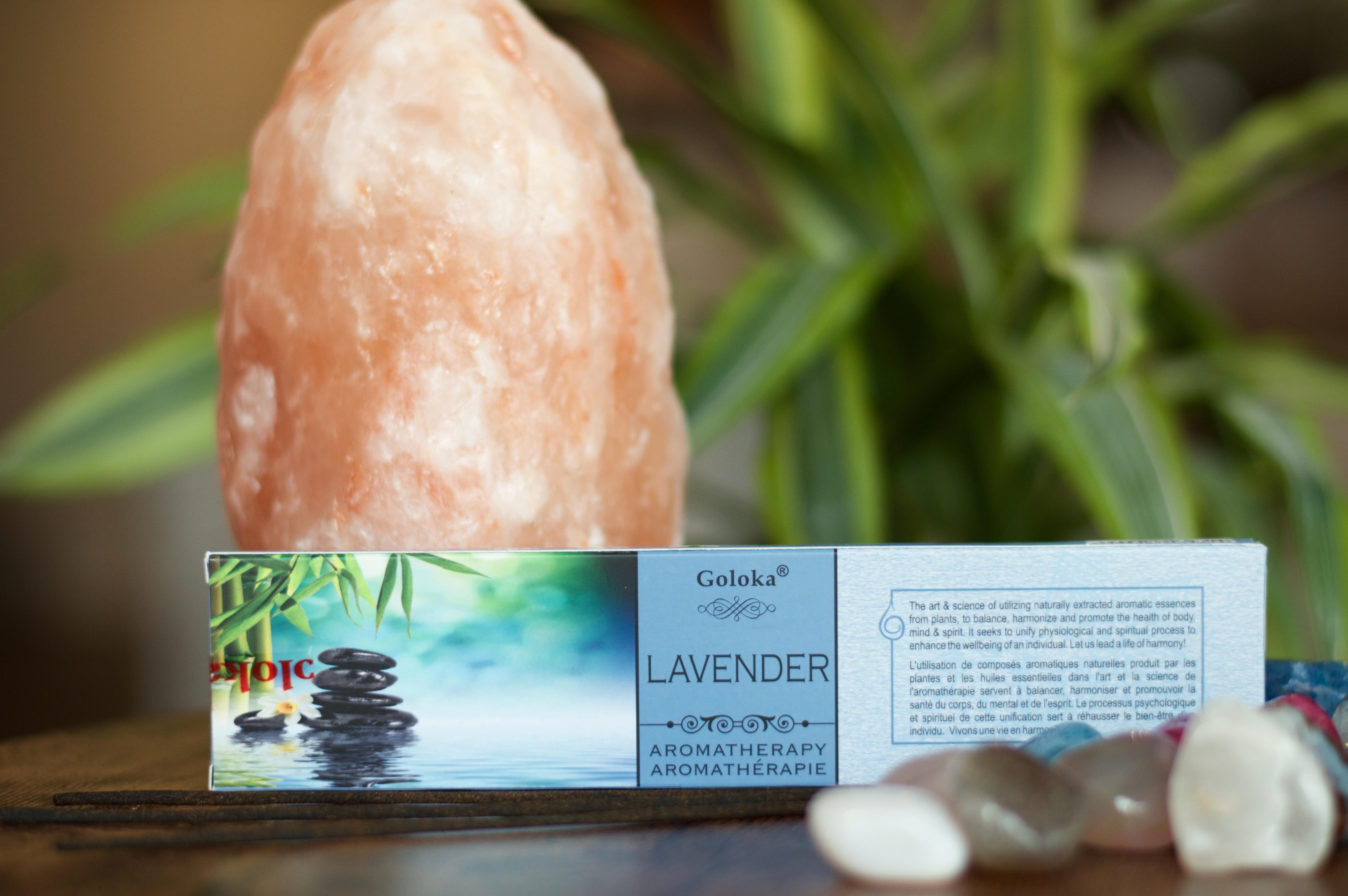 Goloka Lavender Incense