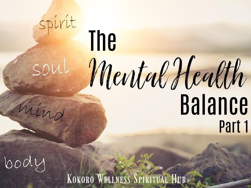 Holistic health concept of zen stones / Concept body, mind, soul, spirit,